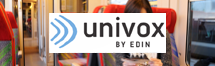 Univox Logo - Assistive Listening